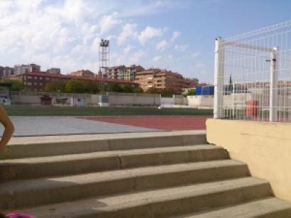 acceso pista de atletismo