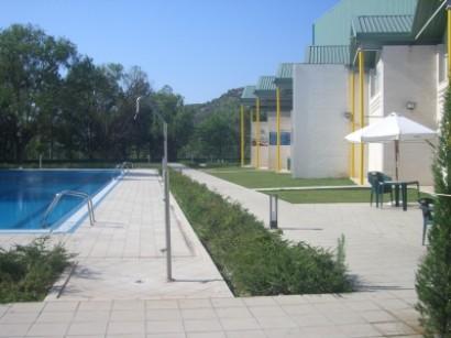 restaurante piscina exterior
